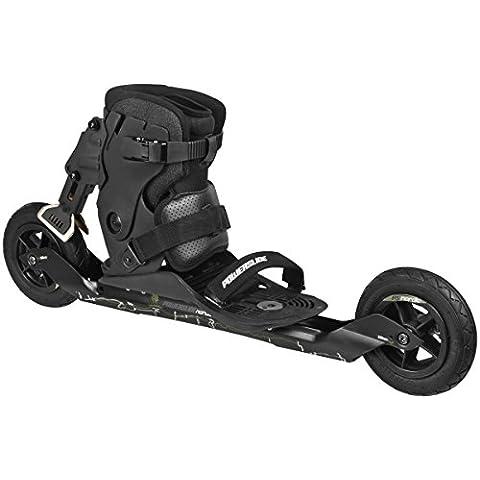 Powerslide Inline-Skate XC Skeleton II - Patines en línea, color Negro, talla 43-49