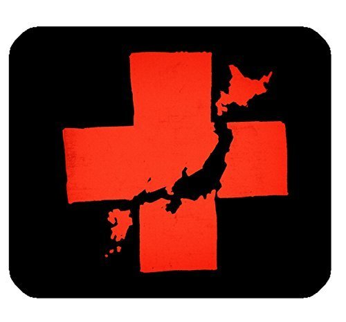 red-cross-pattern-print-rectangle-mousepad-gaming-mouse-pad