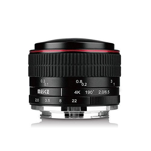 Meike MK 6,5mm f/2.0Objektiv Fisheye für olypums Panasonic Micro 4/3Mount Cameras -