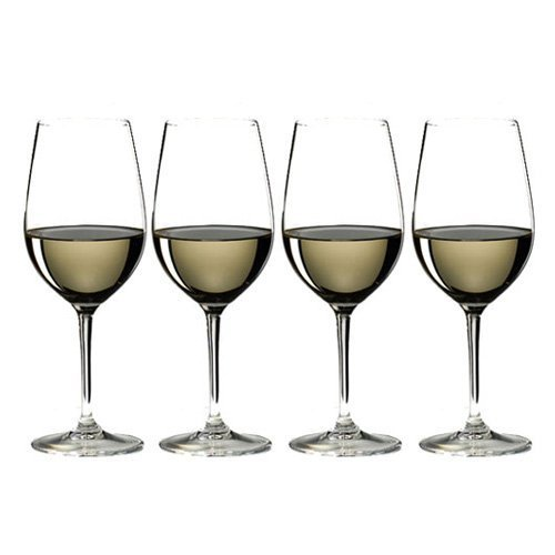 RIEDEL 7416/54 Vinum Zahl 3 Kauf 4 Riesling/Zinfandel, 4-teiliges Rot-/Weißweinglas Set, Kristallglas (Dekanter Sommelier)
