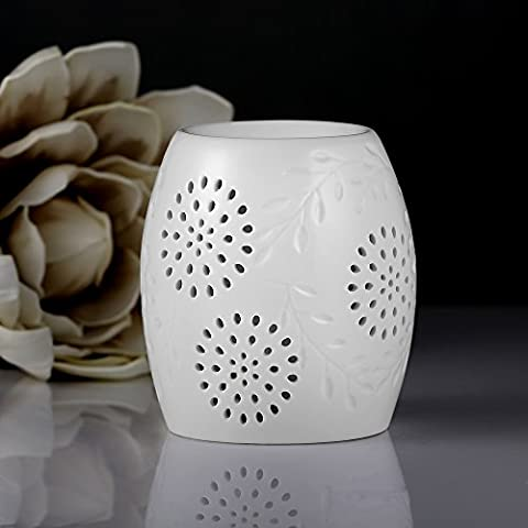 Ecooe Brûleur à Huile Céramique Huile Essentielle Parfum Lampes Lampe de parfum Chambre Bougie Aromathérapie Huiles