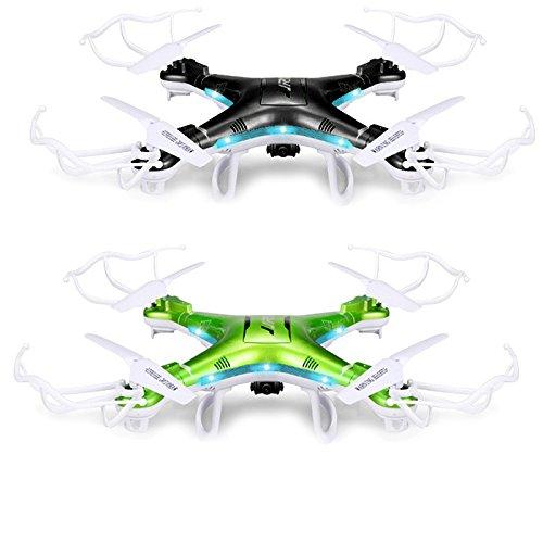 Vococal-JJRC-H5P-RC-Quadcopter-hlicoptre-24GHz-4-voies-6-Axis-Gyro-drone-avion-aronef-avion-Botes-avec-des-lumires-LED-et-camra-20MP-HD-Noir