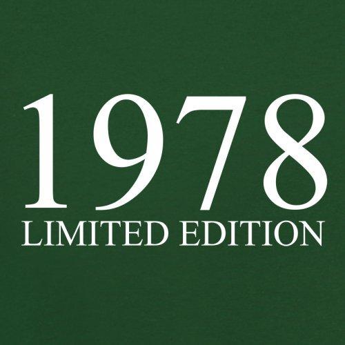 1978 Limierte Auflage / Limited Edition - 39. Geburtstag - Herren T-Shirt - 13 Farben Flaschengrün