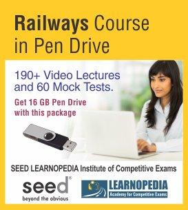Railways Course in Pen Drive