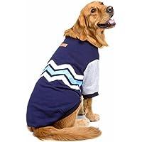 Ropa para mascotas,RETUROM Suéter con capucha de Warm Thick Wave grueso de la camisa Ropa para el perro grande grande