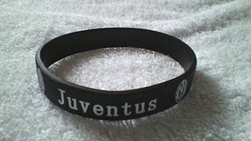 juventus-black-and-white-silicone-wristband