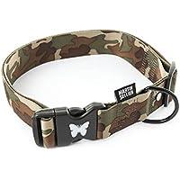 Martin Sellier collar para perro de la Collection camuflaje -S-M-L-XL (S)