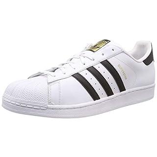 adidas Unisex-Erwachsene Superstar Low-Top, Weiß (Ftwr White/Core Black/Ftwr White), 44 2/3 EU