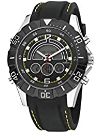 Reloj NOWLEY analogico-digital correa de caucho negro Ref. 8-5313-0 012321e6cf2d