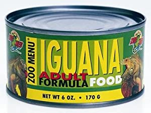 Zoo Med Adult Iguana Food CAN 170g, ZM-65 by Zoo Med