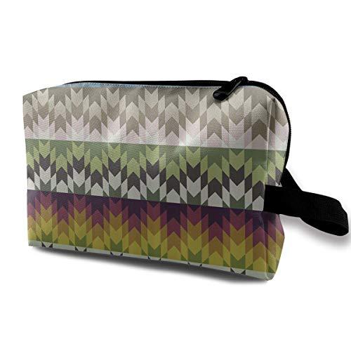 Reise-hängende Kosmetiktaschen Ethnic Tribal African Primitive Effects Multi-Functional Toiletry Makeup Organizer travel makeup bag -