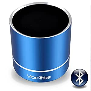 Vibe-Tribe Troll Plus - Yale Blue: 12 Watt Bluetooth Vibration Speaker, vivavoce, suction base integrata