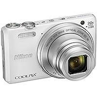 Nikon Coolpix S7000 Fotocamera Digitale Compatta, 16 Megapixel, Zoom 20X,