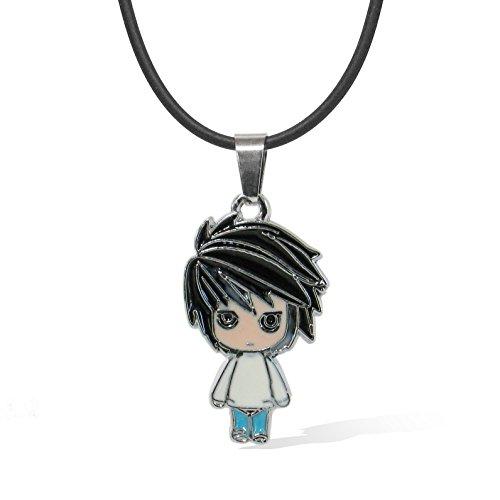 papapanda Halskette Kette für Death Note L Necklace Death Note Stoff