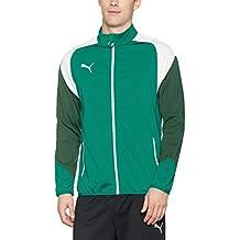 Chaqueta Puma para hombre. , hombre, color power green-puma white-dark green, tamaño xx-large