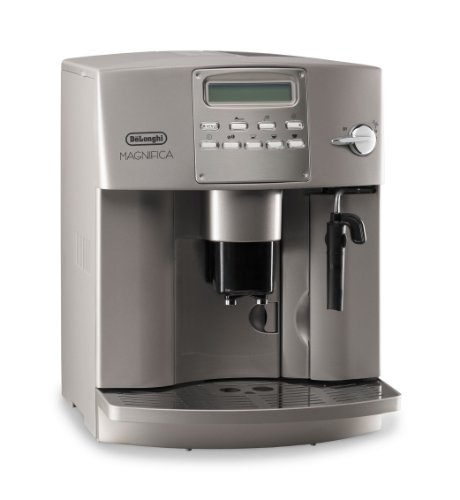 DeLonghi EAM 3400 Exclusiv Espressovollautomat silber