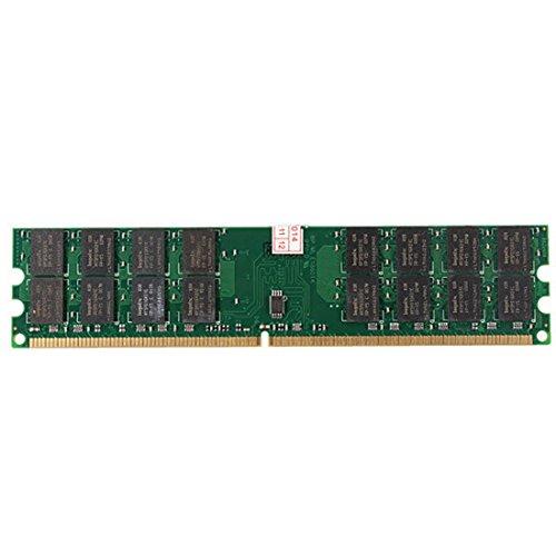 4GB Memoria RAM - TOOGOO(R) Nuevo 4GB Memoria RAM DDR2 800MHZ PC2-6400 240 Pines Tarjeta madre de DIMM AMD de computadora de escritorio