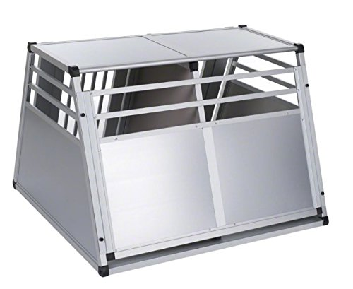 Aluline Robust and Lightweight Double Dog Crate - Safe and Comfortable Way to Transport Larger Dogs when Travelling by… 2
