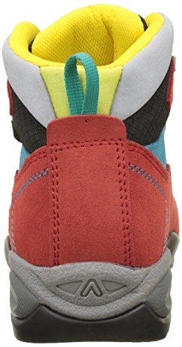 Asolo Dual Gv Jr, Scarpe da Arrampicata Alta Unisex – Bambini Rosso (Rosso/nero)