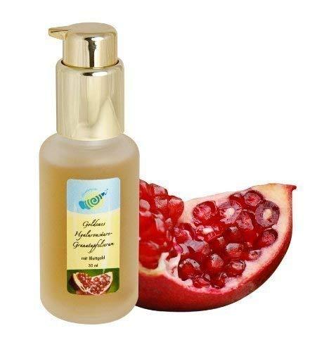 Goldenes Hyaluronsäure-Granatapfel-Serum 50g