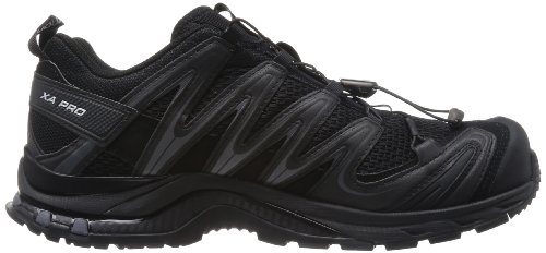 Salomon  XA PRO 3D, Chaussures de trail hommes Multicolore (Black Black Dark Cloud)