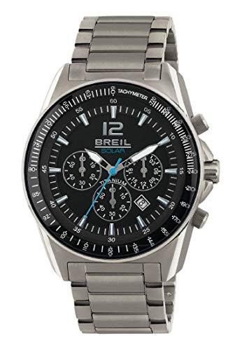 Breil orologio cronografo quarzo uomo con cinturino in titanio tw1657