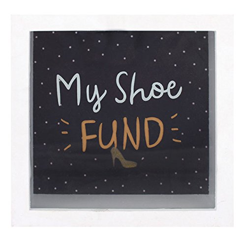 My Shoe Fund Salvadanaio-Vetro frontale
