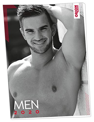 ORION Erotikkalender Pin-Up Men 2020 - erotischer A3 Wandkalender für Frauen, Erotik Pin-Up Kalender mit 12 Motiven