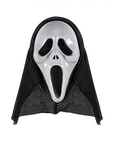 Horror-Shop Schreiende Screaming Ghost Geister-Maske für -