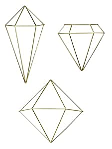 Umbra prisma geometrische wanddekoration deko for Geometrische deko