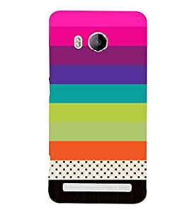 For vivo Xshot sripes pattern ( ) Printed Designer Back Case Cover By CHAPLOOS