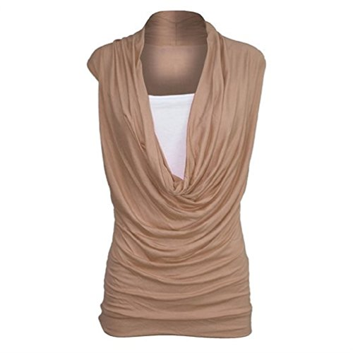 Sugerdiva Damen Tunika Kleid Camel