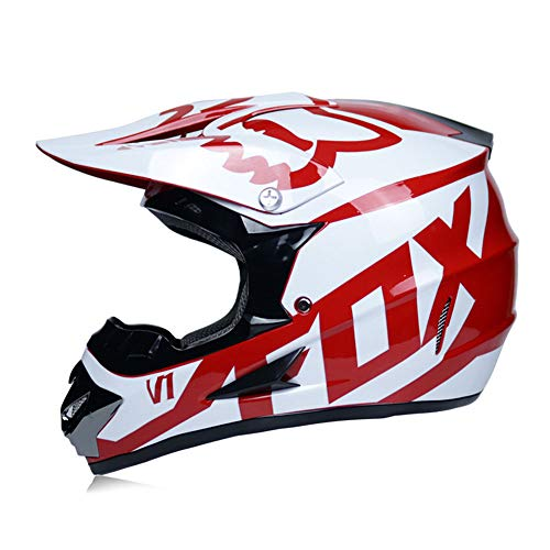 NF Adulto Motocross Casco MX Moto Casco Scooter ATV Casco Carretera Carrera...
