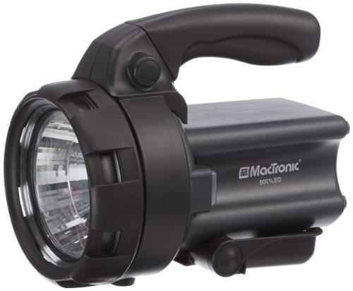 MacTronic - Aufladbarer 1 Watt Suchscheinwerfer 9001 LED