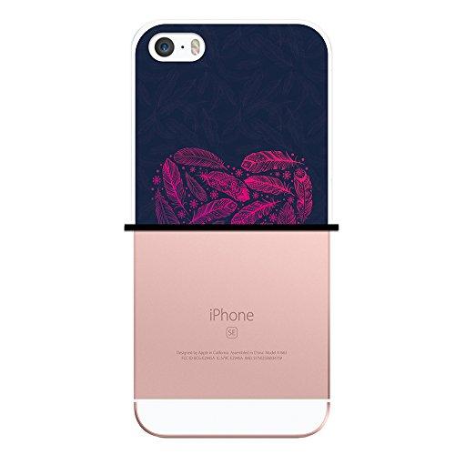 iPhone SE iPhone 5 5S Hülle, WoowCase Handyhülle Silikon für [ iPhone SE iPhone 5 5S ] Indischer Stil mit Elefanten-Muster Handytasche Handy Cover Case Schutzhülle Flexible TPU - Schwarz Housse Gel iPhone SE iPhone 5 5S Transparent D0452