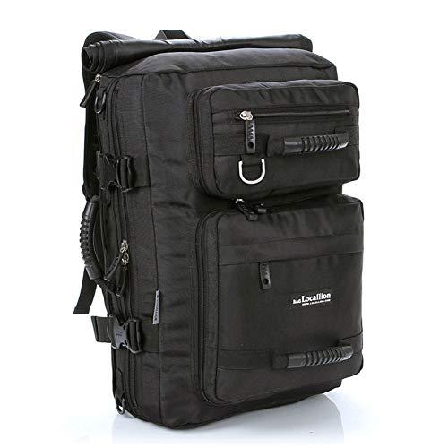 Backpack 45-Liter-Rucksack, perfekt für Arbeit, Studium und Gaming, für Laptops mit Bildschirmdiagonalen von bis zu 15,6 Zoll - schwarz