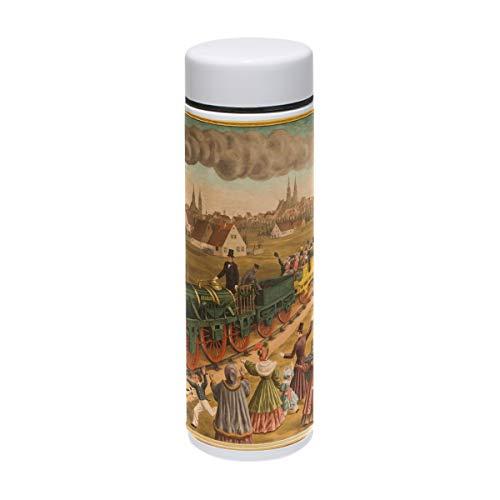rt Painting Vakuum-Isolierter Edelstahl-Reisebecher Sport-Wasserflasche 19,1 ml heiß für 12 Stunden ()