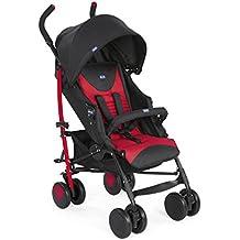 Chicco New Echo - Silla de paseo ligera, hasta 22 kg, peso 7,6 kg, color azul, rosa, gris o roja