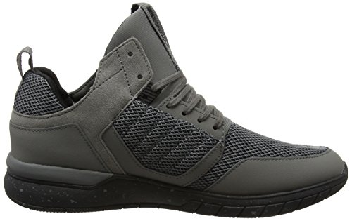 Supra Method, Haute Sneakers Homme Gris (Eiffel Tower/black)