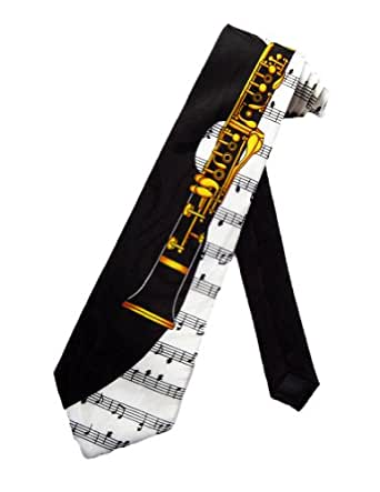 cravate Steven Harris clarinette - noir - taille unique