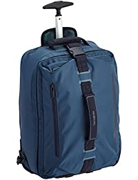 Samsonite Explorall Zaino con Ruote e Comparto Porta-PC, 25 litri, 50 cm, Blu