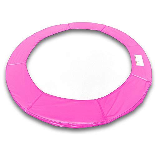 ms point Randpolsterung Gepolsterte Federabdeckung Rahmenpolsterung für 305cm Trampoline 26cm Stärke 18mm in Pink