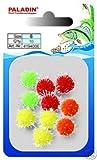 Paladin Lachseier Pop Ups 8mm - 10 Auftriebskugeln zum Forellenfischen, Popups für Naturköder, Lachsei Imitation zum Angeln auf Forellen