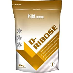 Pure Source Nutrion D Ribose 500g