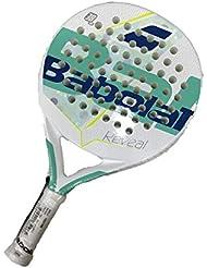 Racchetta Padel Babolat 165196 Reveal Peso 355 Grammi Colore Bianco/Verde Racchetta Padel Babolat