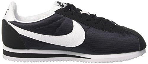 Nike Damen Wmns Classic Cortez Nylon Laufschuhe Schwarz (nero / Bianco / Nero 007)