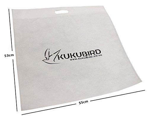Non Kukubird durevole tessuto polvere / borsa Shopping Large X 3 Pcs Con Paypal En Venta wY32vj5pHq