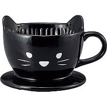 Sol arte Animal cafetera goteo san2542–2de gato negro de Japón
