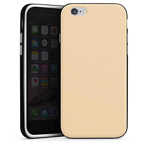 Apple iPhone 4 Housse Étui Silicone Coque Protection Kaki Marron Clair Housse en silicone noir / blanc