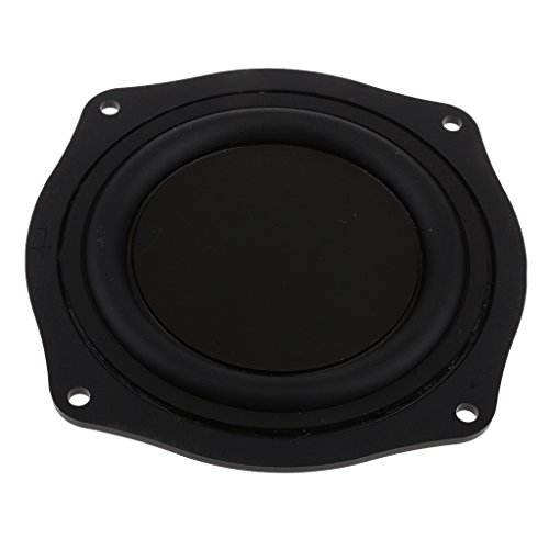 MagiDeal 4 Zoll Lautsprecher Vibrierende Membran Passive Bass Membranplatte